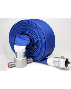 "Aquaflex 2 1/2"" Blue Drinking Water Layflat Hose"