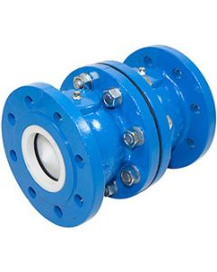 100mm CAST IRON DOUBLE NON RETURN VALVE